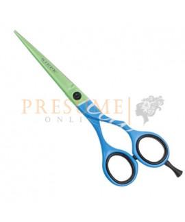 Tijera Kiepe Fluo 5.5 Verde/Azul