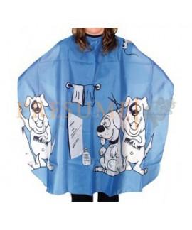 Peinador Infantil Perros Azul