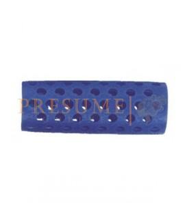 Bolsa 12 Rulos Plastico Azul Nº 2 (Ø 20 Mm)
