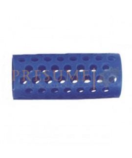 Bolsa 12 Rulos Plastico Azul Nº 3 (Ø 25 Mm)