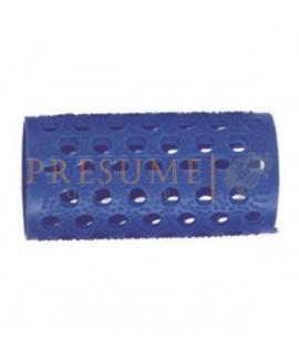 Bolsa 12 Rulos Plástico Azul Nº 4 (Ø 30 Mm)