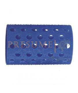 Bolsa 12 Rulos Plástico Azul Nº 5 (Ø 37 Mm)