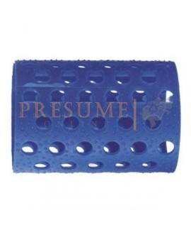 Bolsa 12 Rulos Plastico Azul Nº 6 (Ø 41 Mm)