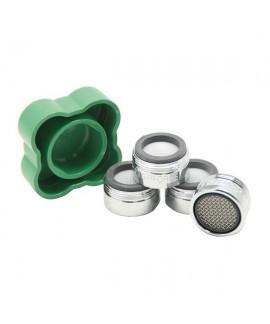 pack 4 filtros mas llave de ducha