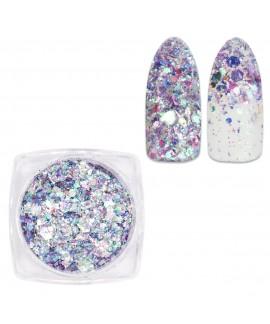 glitter uñas mix dw10