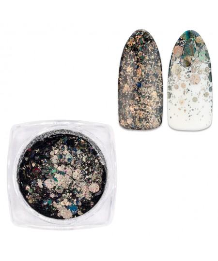 glitter uñas mix da11