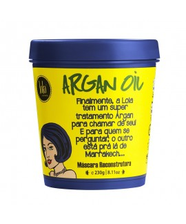 ARGAN OIL - MÁSCARA RECONSTRUTORA 230G