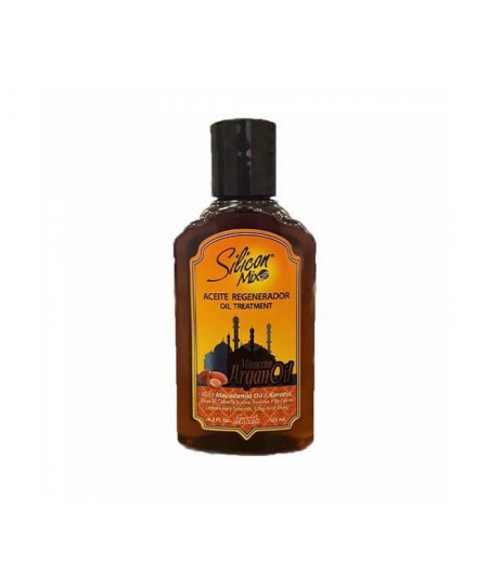SILICON MIX ACEITE REGENERADOR MOROCCAN ARGAN OIL 4,2OZ