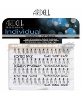 Pestañas Individual Combo Pack Ardell Black